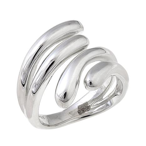 Sevilla Silver™ 4-Row Bypass Ring