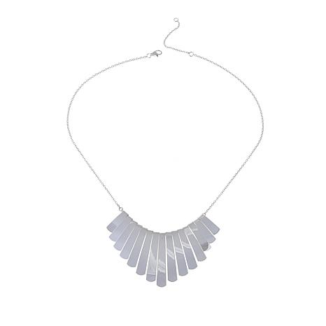 Sevilla Silver™ Fringe Statement Necklace