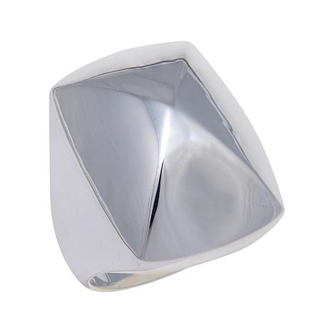 Sevilla Silver™ High-Polished Pyramid Ring