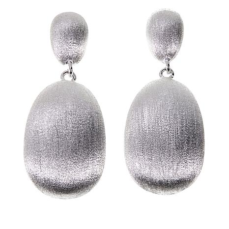 Sevilla Silver™ Matte Double Drop Earrings