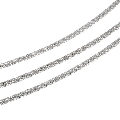 Sevilla Silver™ Set of 3 Popcorn Chains