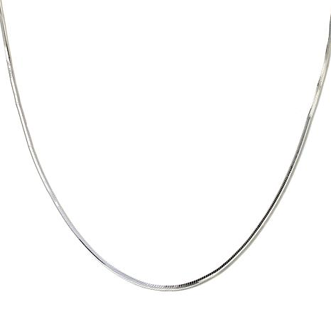 "Sevilla Silver™ Snake Chain 28"" Necklace"