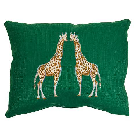 Sewing Down South Animal Lumbar Pillow