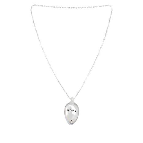 "Shiny Little Blessings ""Hope"" Spoon Necklace"