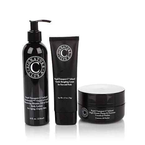 Signature Club A Rapid C Infused Plump & Polish 3pc Set