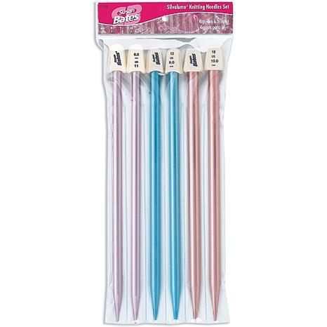 Silvalume Knitting Needles Gift Set