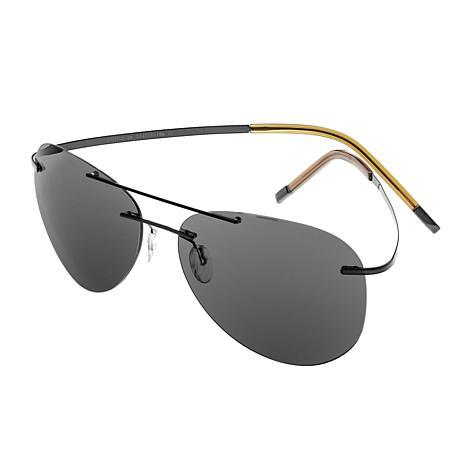 Simplify Sullivan Polarized Sunglasses with Black Frame and Lenses