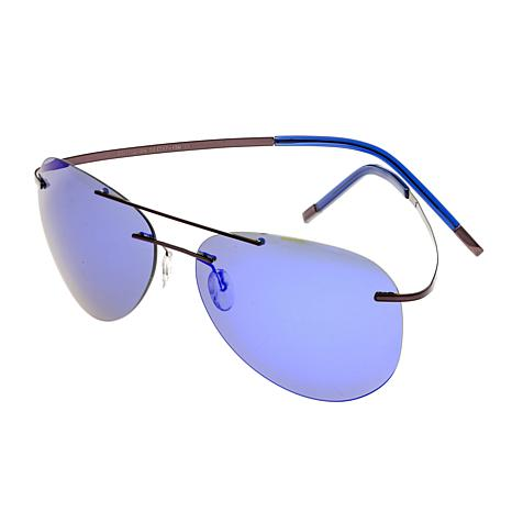 Simplify Sullivan Polarized Sunglasses with Brown Frame