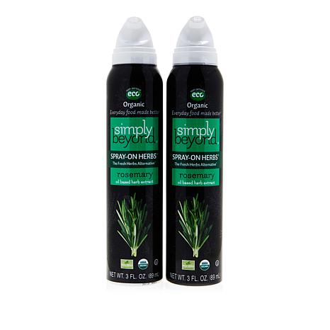 Simply Beyond Spray-On Herbs® Rosemary 2-pack