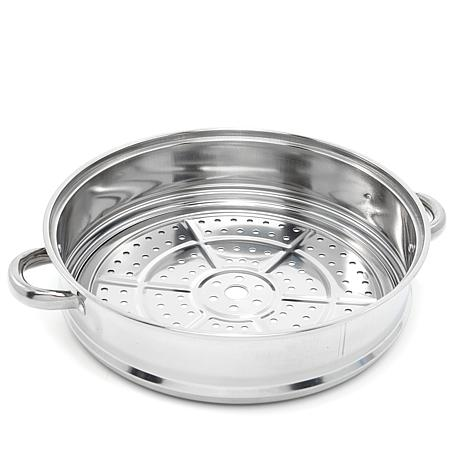Simply Ming Stainless Steel Steaming Plate and Expander Ring