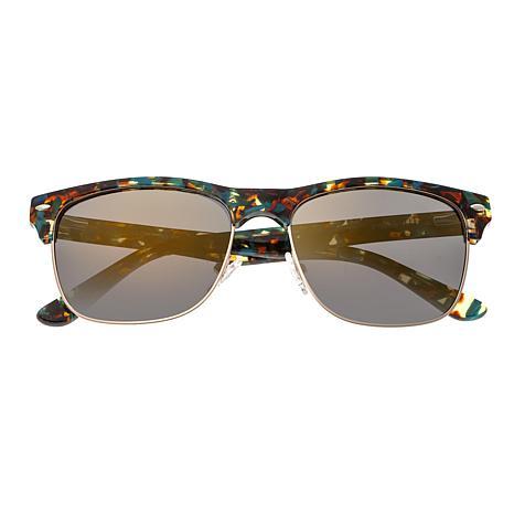 Sixty One Waipio Polarized Sunglasses with Blue Tortoise Frame