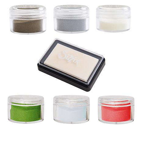 Sizzix® Making Essential Embossing Powders and Ink Pad