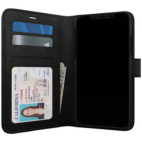 Skech Polo Book Case and Wallet for iPhone 11 Pro Max in Black