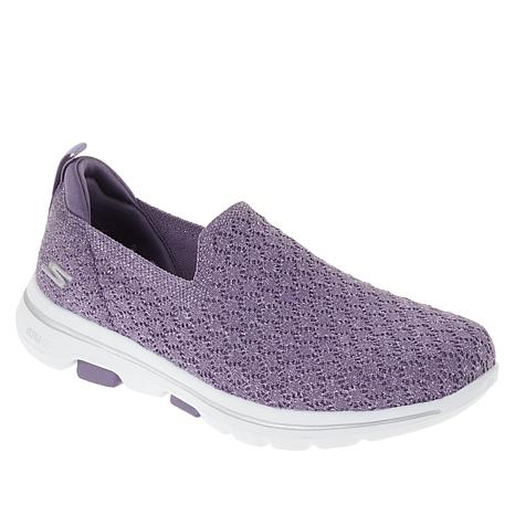skechers go walk 5 womens purple Sale