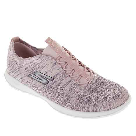 Skechers GoWalk Lite Dawn Sneaker with Bungee Cord