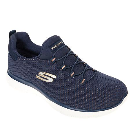 Skechers Summits Bright Bezel Slip-On Athletic Sneaker