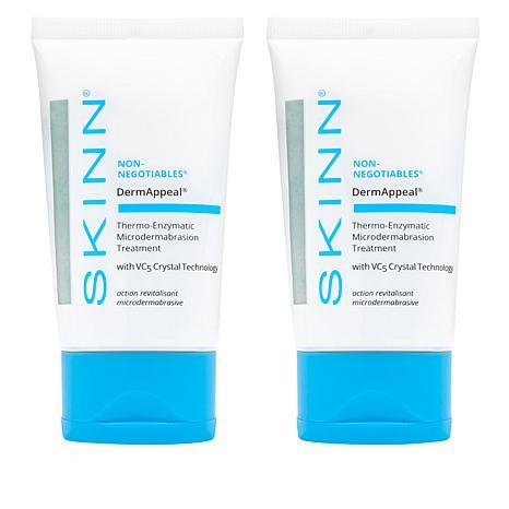Skinn® Cosmetics DermAppeal® Microderm Beauty Treatment 2-pack