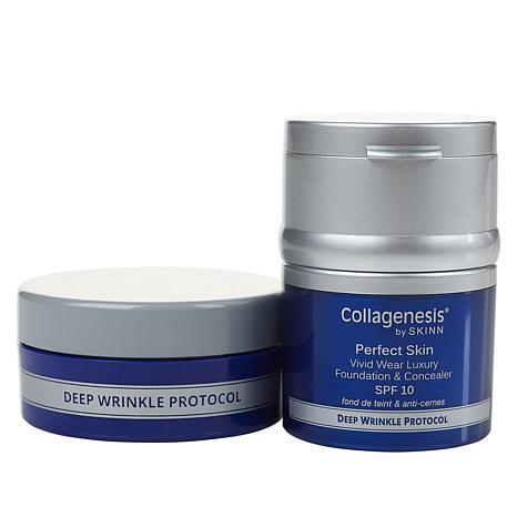 Skinn® Cosmetics DWP Perfect Skin Foundation & Powder- Deep Auto-Ship®