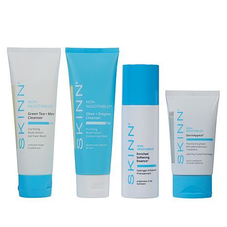 Skinn® Cosmetics Non-Negotiables 4-piece Collection