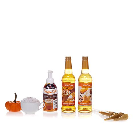 Skinny Syrups Pumpkin Pack with Syrups and Foam