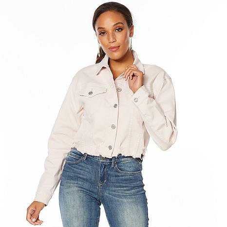 Skinnygirl Cropped Denim Jacket