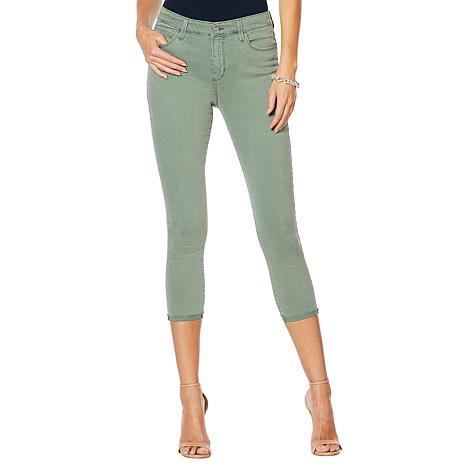 Skinnygirl High-Rise Skinny Cropped Jean - Fashion