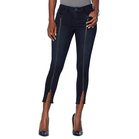 Skinnygirl Skinny Ankle Jean with Zipper Detail