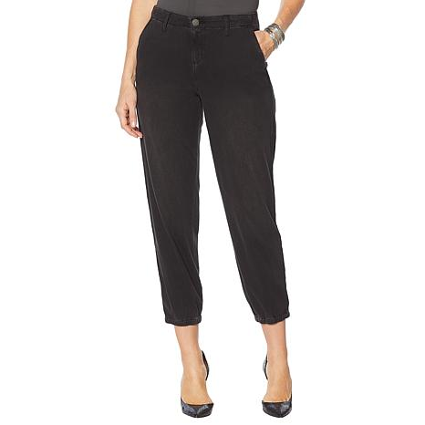 Skinnygirl Utility Jogger with Contrast Trim