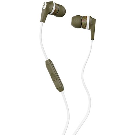 Skullcandy Ink'd 2.0 In-Ear Camo Earbuds with Microphone