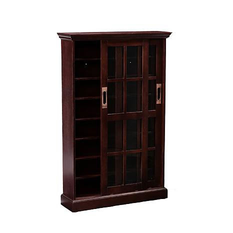 sliding door media cabinet sliding door media cabinet espresso 6408637 hsn 26228