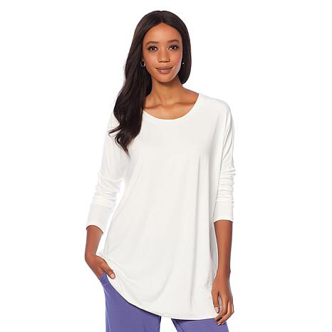 Soft & Cozy Cool Luxe Knit Ribbed Boxy Top