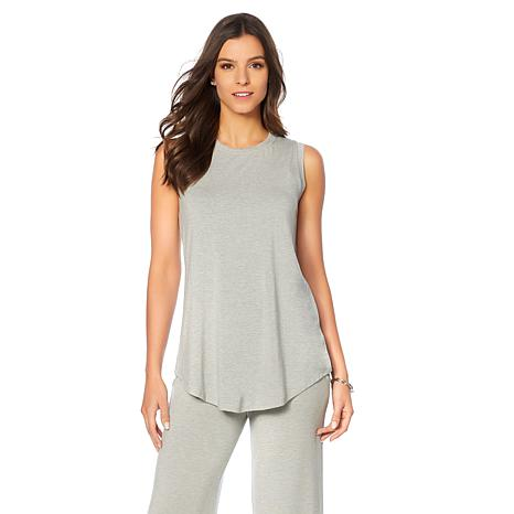 Soft & Cozy Loungewear Cool Luxe Knit Long Length Tank