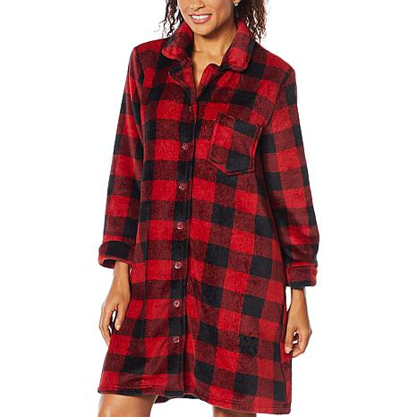 Soft & Cozy Style and Comfort Plush Sleeping Gown
