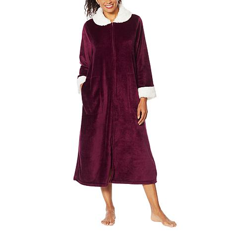 Soft & Cozy Super Soft Style & Comfort Zip-Front Robe