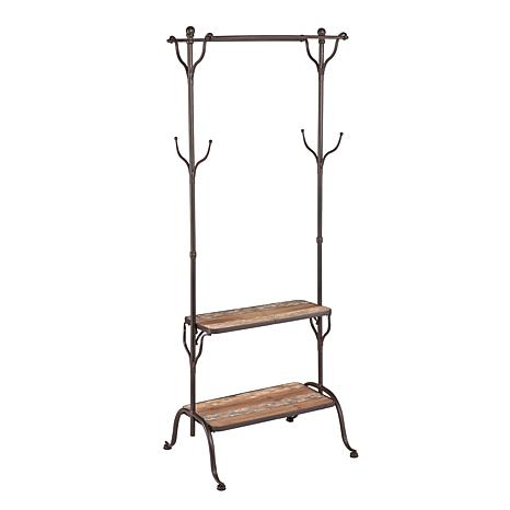 Southern Enterprises Ackerly Entryway Tree with Shelves