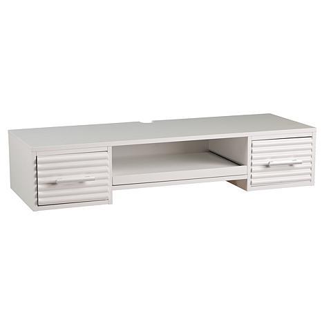 Southern Enterprises Jasper Wall Mount Desk - White