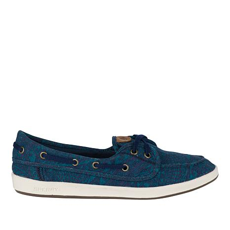 Sperry Drift Hale Tribal Canvas Boat Shoe
