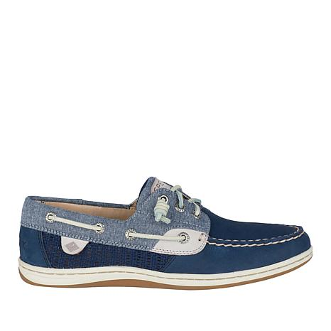 Sperry Songfish Leather and Textile Boat Shoe