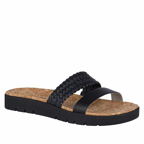 Sperry Sunkiss Pearl Leather Slide Sandal