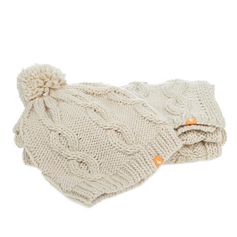 Sporto® Knit Hat and Scarf Set