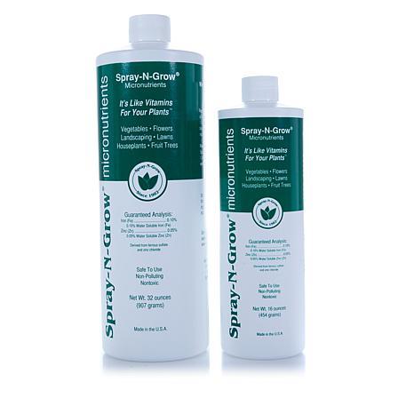 Spray-N-Grow Micronutrients 32 oz. & 16 oz. Bottles