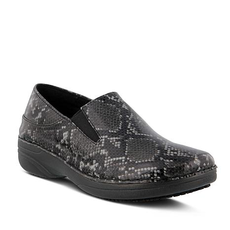 Spring Step Professional Ferrara-Skin Slip-On Shoes