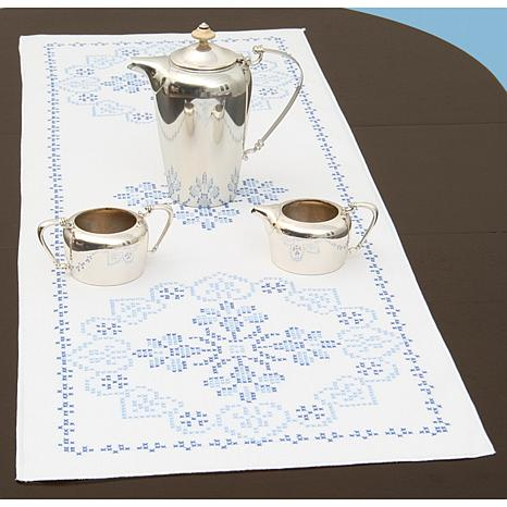 Stamped Table Runner/Scarf