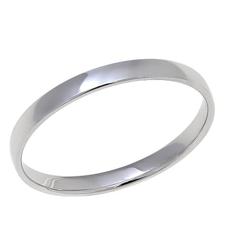 Sterling Silver 2mm Polished Wedding Band Ring
