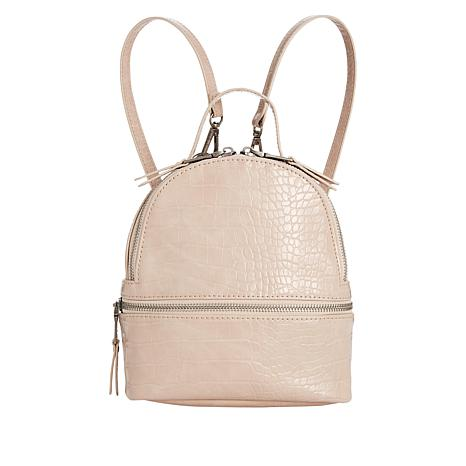 ed13367260 Steve Madden Gator Embossed Convertible Mini Backpack - 8885052 | HSN