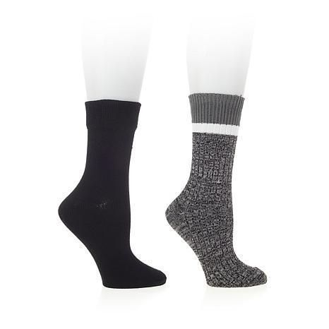 Steven by Steve Madden 2-pack Marl Boot Socks