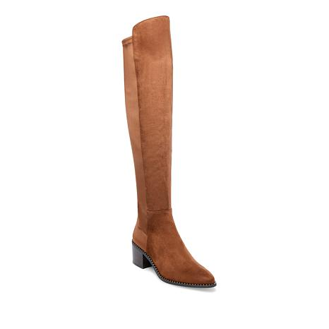 Steven Natural Comfort West Tall Fabric Boot with Studs