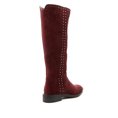 5668007525d Steven Natural Comfort Zoe Leather or Suede Riding Boot