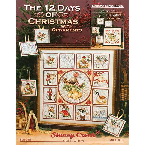 Stoney Creek Counted Cross Stitch - 12 Days Christmas