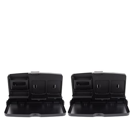 StoreSmith Folding Car Back Seat Trays 2-pack